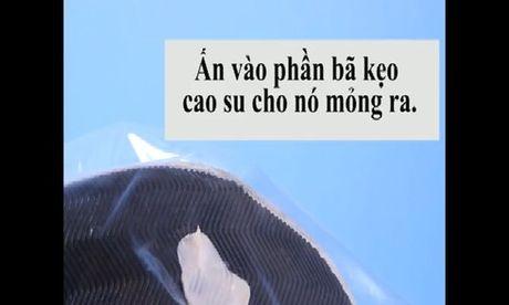 3 cach go keo cao su dinh vao de giay - Anh 1