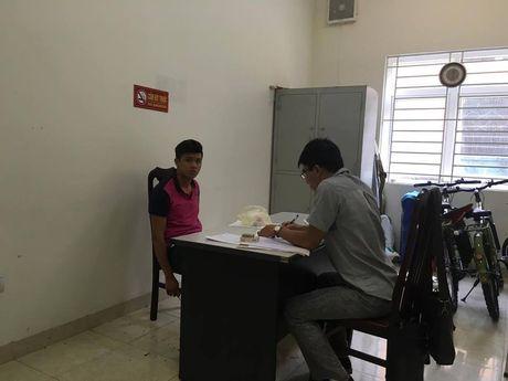 Ha Noi: Doi tuong 9x manh dong dam gay rang CSGT - Anh 1