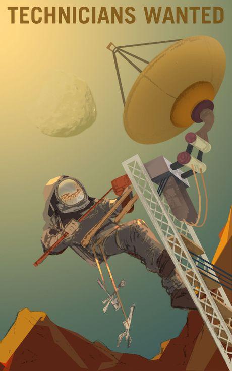 Moi xem poster tuyen nguoi len sao Hoa cua NASA, neu hop hay nop don xin! - Anh 3