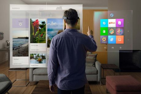 Microsoft HoloLens se len ke tai My vao thang 11 voi gia 3.000 USD - Anh 2