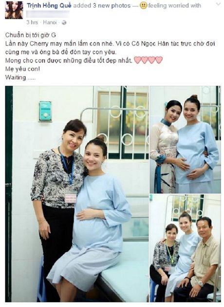 Nguoi mau Hong Que hanh phuc don con gai chao doi - Anh 2
