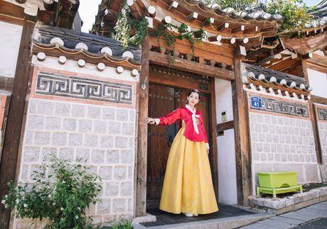 Chi Pu dien hanbok qua xinh dep so voi cac co gai Han Quoc - Anh 4