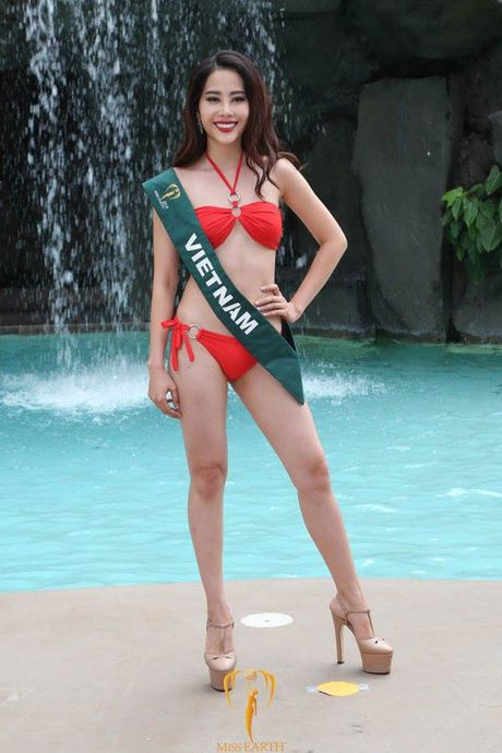 Nam Em thay nguong vi nguoi Viet 'nem da' Miss Earth - Anh 2