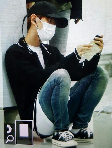 Jessica sang chanh, EXO chon do ruc ro khi ra san bay - Anh 4