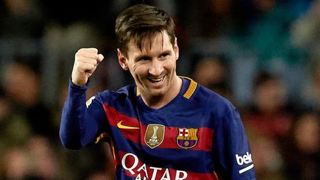 Messi se da tran doi dau Man City - Anh 1
