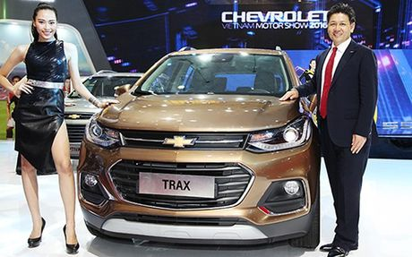 Chevrolet Trax 2017 gia 769 trieu dong - Anh 1