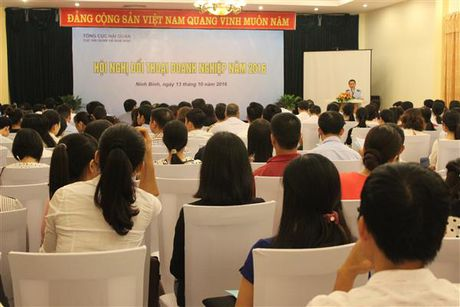 Hai quan Ha Nam Ninh doi thoai voi 200 DN co hoat dong XNK tren dia ban - Anh 1