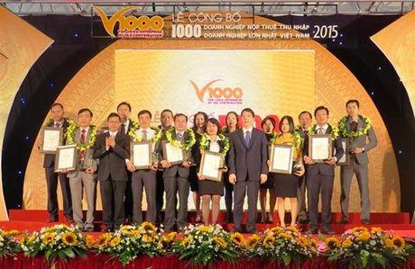 Cong bo 1000 DN nop thue TNDN lon nhat Viet Nam nam 2016 - Anh 1