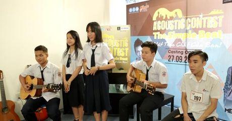 Nhac si Mew Amazing lam giam doc am nhac cho chuong trinh chuyen Acoustic - Anh 2