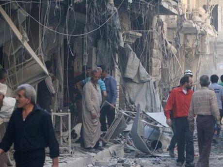 Nga – Syria van khong kich du doi o dong Aleppo, nhieu nguoi thuong vong - Anh 1