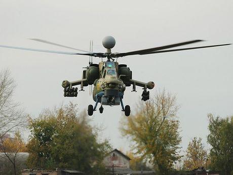Mi-28N nang cap cua Nga co chuyen bay thu dau tien - Anh 1