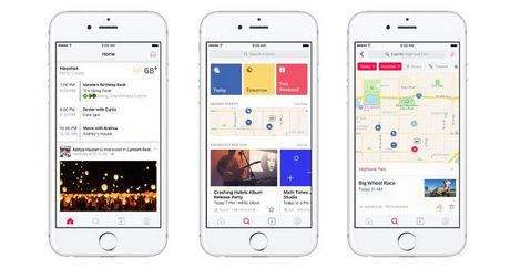 Facebook tach Events thanh ung dung rieng - Anh 2