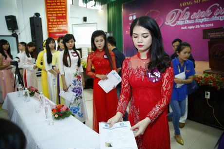 'Nu sinh vien Viet Nam duyen dang 2016' chinh thuc buoc vao vong so khao - Anh 3