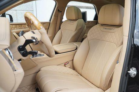 Ra mat sieu SUV do Mansory Bentley Bentayga - Anh 11