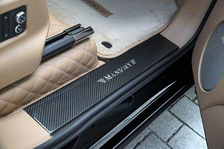 Ra mat sieu SUV do Mansory Bentley Bentayga - Anh 13