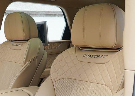 Ra mat sieu SUV do Mansory Bentley Bentayga - Anh 14