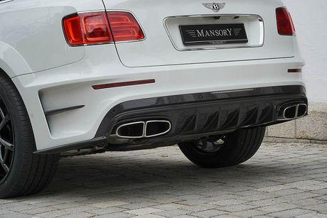 Ra mat sieu SUV do Mansory Bentley Bentayga - Anh 6