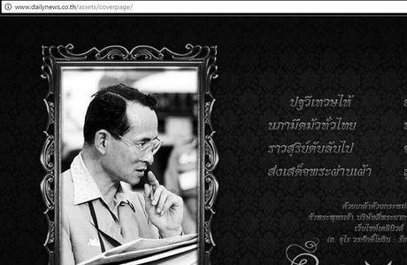 Thai Lan: Duc vua bang ha, nguoi dan oa khoc tiec thuong - Anh 2