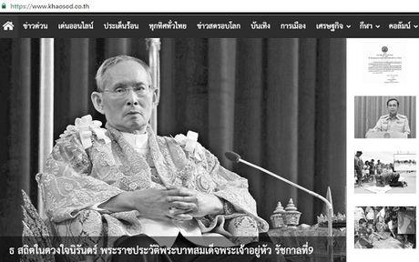 Thai Lan: Duc vua bang ha, nguoi dan oa khoc tiec thuong - Anh 4