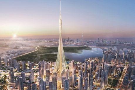 Dubai tham vong tiep tuc 'pha ky luc' toa thap cao nhat the gioi - Anh 1