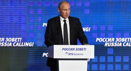 Putin: Nga muon co moi quan he than thien voi mot dat nuoc vi dai nhu My nhung... - Anh 1