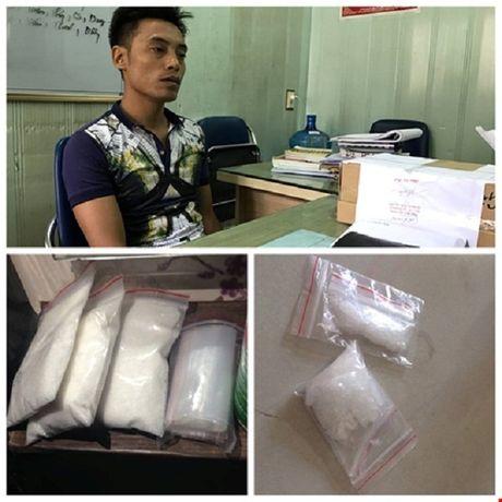 Hai Phong: Bat trum bao ke tang tru va mua ban 1,18kg ma tuy - Anh 1