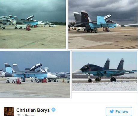 Tiem kich My son mau giong may bay Nga o Syria gay tranh cai - Anh 1