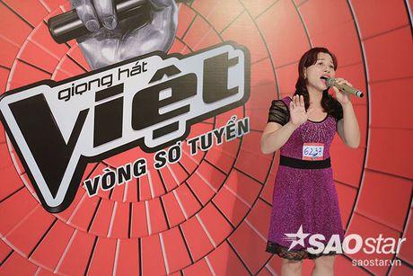 Tro cung My Tam - Van Anh tiet lo bi quyet chinh phuc giam khao trong ngay casting thu 2 Giong hat Viet - Anh 13