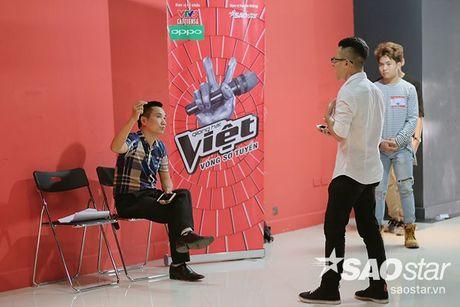 Tro cung My Tam - Van Anh tiet lo bi quyet chinh phuc giam khao trong ngay casting thu 2 Giong hat Viet - Anh 7