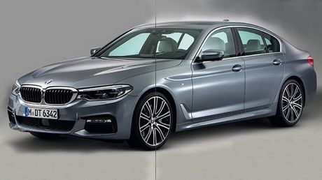 BMW 5-Series hoan toan moi lo anh nong truoc ngay ra mat - Anh 1