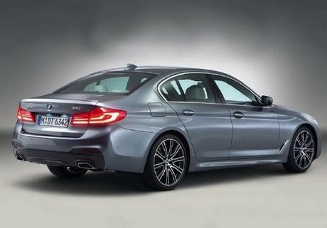 BMW 5-Series hoan toan moi lo anh nong truoc ngay ra mat - Anh 2