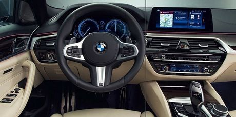 BMW 5-Series hoan toan moi lo anh nong truoc ngay ra mat - Anh 3