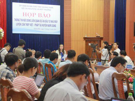 Hop bao ve viec di doi Nha may thep Viet Phap - Anh 1
