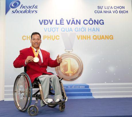 Nha vo dich Le Van Cong: 'Mot nua co hoi cung phai co gang' - Anh 1