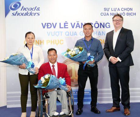 Nha vo dich Le Van Cong: 'Mot nua co hoi cung phai co gang' - Anh 2