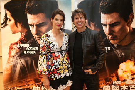 Tom Cruise sanh buoc cung kieu nu Marvel - Cobie Smulders - Anh 10