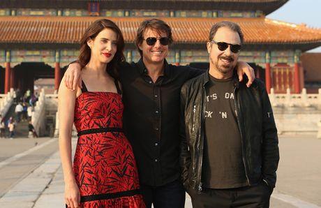 Tom Cruise sanh buoc cung kieu nu Marvel - Cobie Smulders - Anh 1