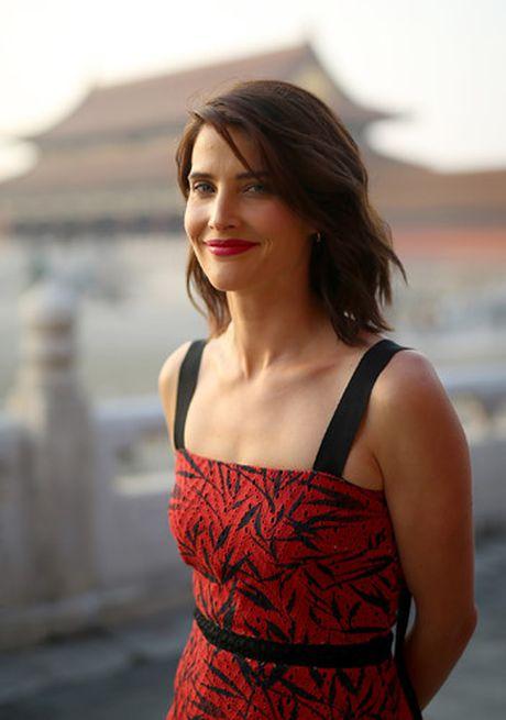 Tom Cruise sanh buoc cung kieu nu Marvel - Cobie Smulders - Anh 5