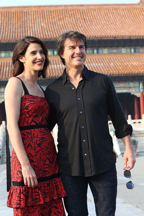 Tom Cruise sanh buoc cung kieu nu Marvel - Cobie Smulders - Anh 7