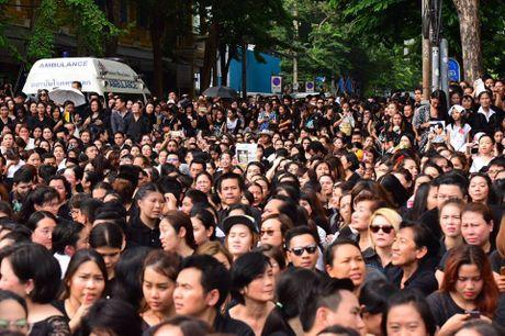 Nguoi dan Thai Lan doi nang de dua tien Nha vua Adulyadej - Anh 8