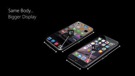 iPhone 8 man hinh 4K, kich thuoc sieu mong - Anh 4
