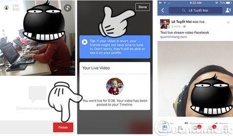 Huong dan thiet lap tinh nang truc tiep tren facebook - Anh 3