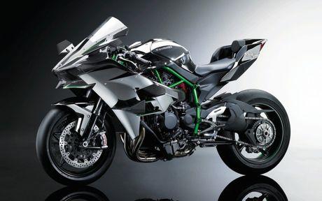 Kawasaki Ninja H2 Carbon 2017 chi co 120 chiec tren toan the gioi - Anh 1