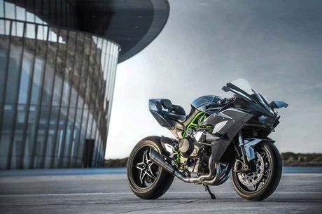 Kawasaki Ninja H2 Carbon 2017 chi co 120 chiec tren toan the gioi - Anh 2