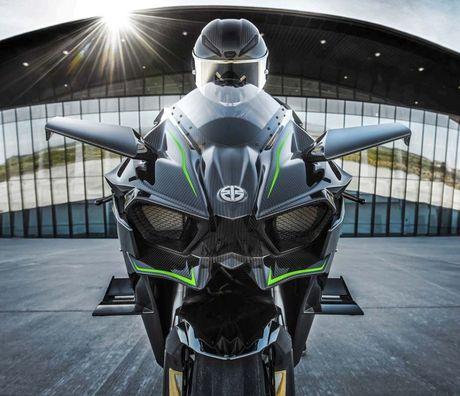 Kawasaki Ninja H2 Carbon 2017 chi co 120 chiec tren toan the gioi - Anh 5