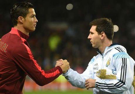 Messi va Ronaldo khong phai nguoi Trai Dat - Anh 1