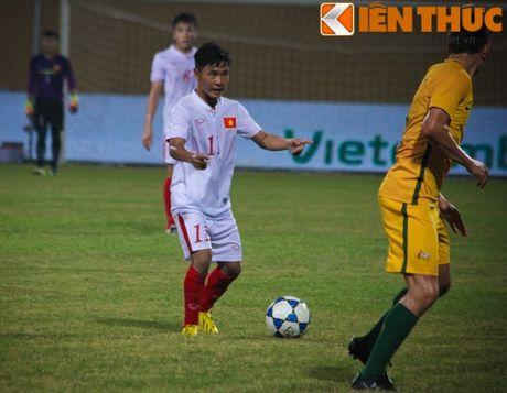 U19 Viet Nam - U19 CHDCND Trieu Tien: No luc de di tiep - Anh 1