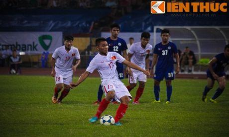U19 Viet Nam - U19 CHDCND Trieu Tien: No luc de di tiep - Anh 2