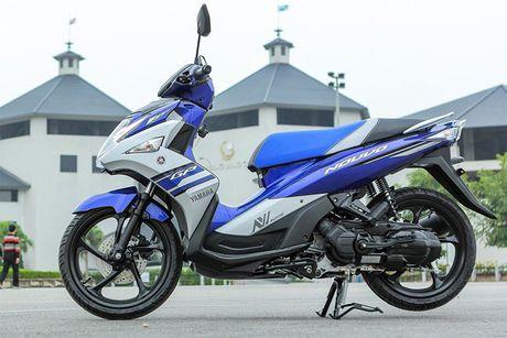 Yamaha khai tu xe tay ga Nouvo tai Viet Nam - Anh 2