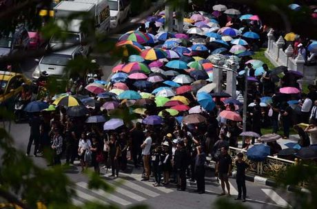Thai Lan: Xep hang ca cay so don linh cuu Vua Bhumibol - Anh 4